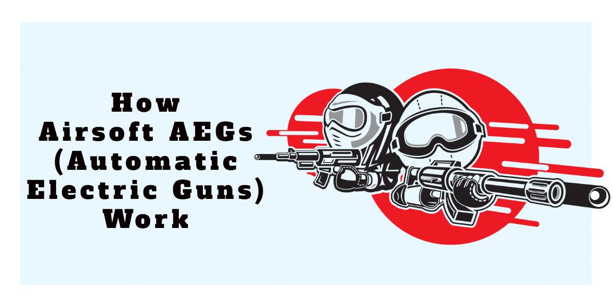 how do electric airsoft guns work
