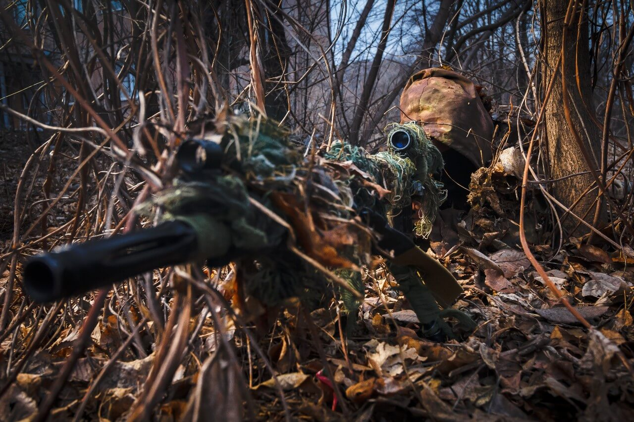 how to be an airsoft sniper