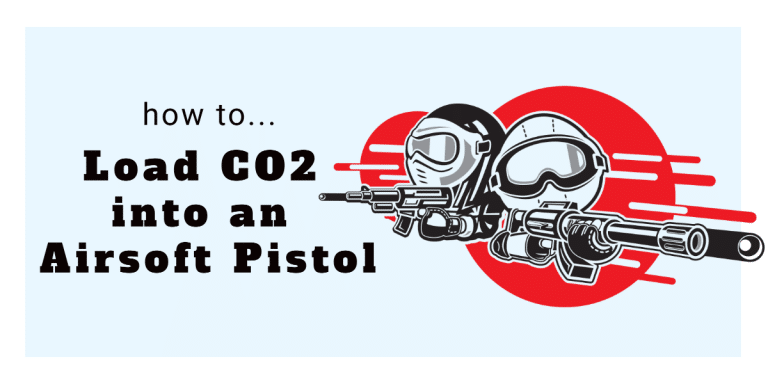 How to Load CO2 Into an Airsoft Pistol