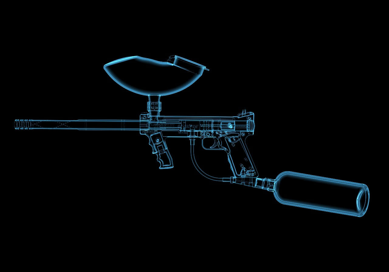 what is a paintball marker?