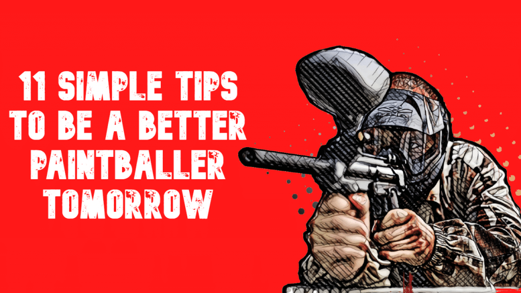 how to be good at paintball